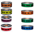 "Presco 2"" Detectable Underground Warning Tape - 12 Rolls (8 Models Available) ES4711"