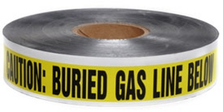 "Presco 2"" Detectable Underground Warning Tape"