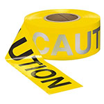 Presco 2 mil Day/Night CAUTION Barricade Tape - RB3102Y16 (Case of 8 Rolls) ES9840