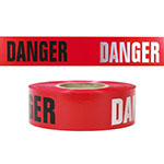 Presco 3 mil Day/Night DANGER Barricade Tape - RB3103R21 (Case of 8 Rolls) ES9842
