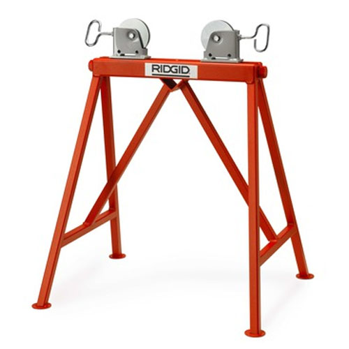 Ridgid Adjustable Stand with Steel Rollers - 632-64642