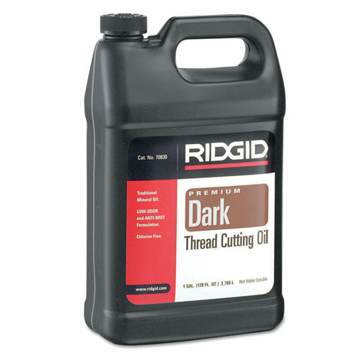 Ridgid Dark Thread Cutting Oil - 1 Gallon - 632-70830