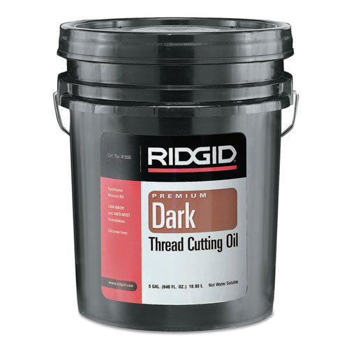 Ridgid Dark Thread Cutting Oil - 5 Gallon Pail - 632-41600