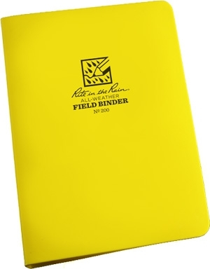 Rite-in-the-Rain All-Weather Field Ring Binder 9092-00