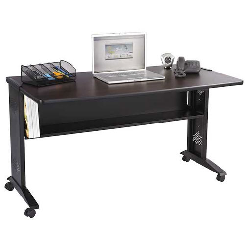 "Safco 54""W Reversible Top Mobile Desk 1933"