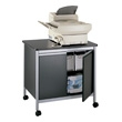 Safco Deluxe Machine Stand 1872BL (Black) ES2420