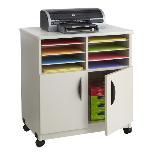 Safco Mobile Machine Stand with Sorter (4 Colors Available)