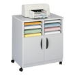 Safco Mobile Machine Stand with Sorter (4 Colors Available) ES2426