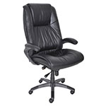 Mayline Ultimo 100 Series High-Back Leather Chair - Black - ULEXBLK ES2661