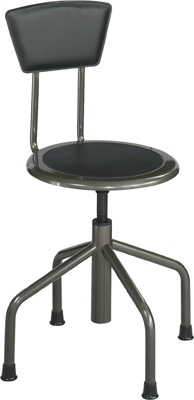 Safco Diesel Low Base Stool with Back 6668
