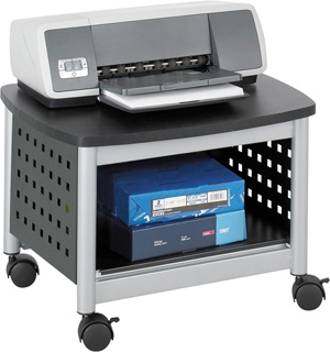 Safco Scoot Under-Desk Printer Stand 1855BL
