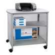 Safco Impromptu Deluxe Machine Stand 1858GR (Gray) ES3267