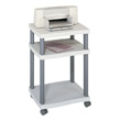 Safco Wave Desk Side Printer Stand 1860GR (Gray) ES3269