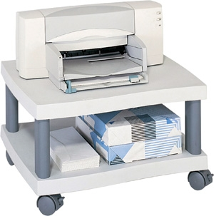 Safco Wave Under-Desk Printer Stand 1861GR
