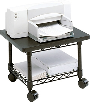 Safco Under-Desk Printer/Fax Stand