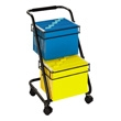Safco Jazz Two Tier File Cart 5223BL (Black) ES3339