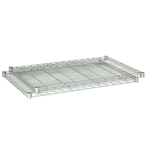 "Safco 36"" x 18"" Industrial Extra Shelf Pack - Metallic Gray - 5287GR"