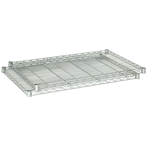 "Safco 36"" x 24"" Industrial Extra Shelf Pack - Metallic Gray - 5290GR"