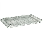 "Safco 48"" x 24"" Industrial Extra Shelf Pack - Metallic Gray - 5296GR ES3379"
