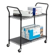 Safco Wire Utility Cart 5337BL (Black) ES3387