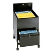 Safco Legal Size Locking Mobile Tub File with Drawer (3 Colors Available) ES3407