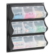 Safco 9 Pocket Panel Bins (2 Colors Available) ES3431