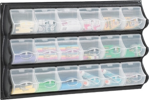Safco 18 Pocket Panel Bins