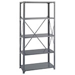 Safco 36 x 18 Commercial 5 Shelf Kit - 6266 ES3445