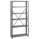 Safco 36 x 12 Commercial 6 Shelf Kit - 6268 ES3447