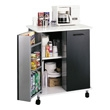 Safco Refreshment Stand 8963BL (Black) ES3521