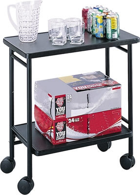 Safco Folding Office Cart 8965BL ES3523