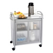 Safco Impromptu Refreshment Cart 8966GR (Gray) ES3524