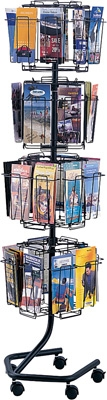 Safco Wire Brochure Display Rack 4128CH