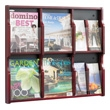 Safco Expose 6 Compartment Literature Display (2 Colors Available) ES3764