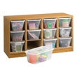 Safco Supplies Organizer 9452MO (Medium Oak) ES3852