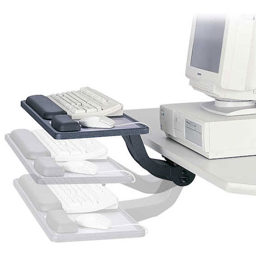 Safco ErgoComfort Sit/Stand Articulating Keyboard/Mouse Arm 2196