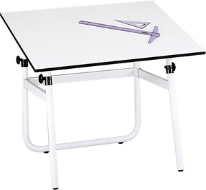 "Safco Horizon Drawing Table, 42"" W x 30"" D (3961 and 3950)"