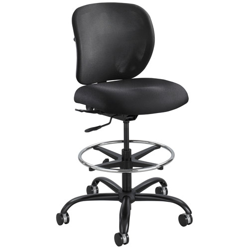 Safco Vue Heavy Duty Stool - Black - 3394BL