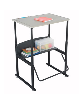 Safco AlphaBetter Desk 28x20 without Book Box 1201BE