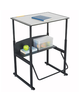 Safco AlphaBetter Desk 28x20 without Book Box - 1203GR