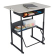 Safco AlphaBetter Desk 36 x 24 with Book Box - 1207BE ES6064