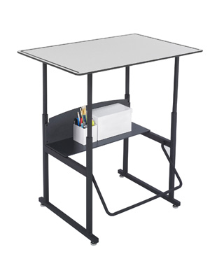 Safco AlphaBetter Desk 36 x 24 without Book Box - 1208GR