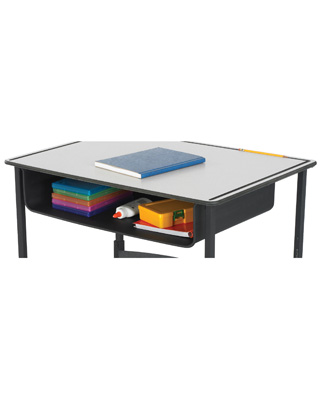 Safco Book Box for AlphaBetter Desk - 1212BL