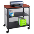 Safco Impromptu Deluxe Machine Stand 1858BL (Black) ES6069