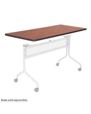 Safco Impromptu Mobile Training Table, Rectangle Top ES6088