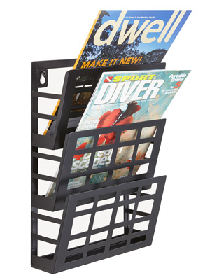Safco Grid Magazine Rack ES6096