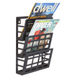 Safco Grid Magazine Rack (3 Sizes Available) ES6096