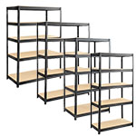 Safco Boltless Steel and Particleboard Shelving (4 Sizes Available) ES6103
