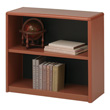 Safco 2-Shelf ValueMate Economy Bookcase 7170CY (Cherry) ES6104