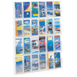 Safco Reveal 24 Pamphlet Display 5601CL ES6123